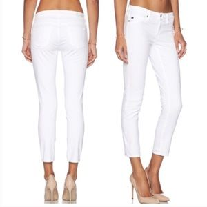 AG The Stilt Crop Cigarette Crop Jeans